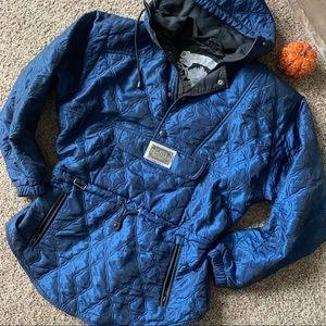 •NILS SKIWEAR• Vintage Iridescent Ski Coat Sz 8